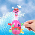 Creative Novelty Kids Children Party Funny Lucky Pirate Barrel Family Games Gadget Jokes Tricky Gifts Toys TY0084