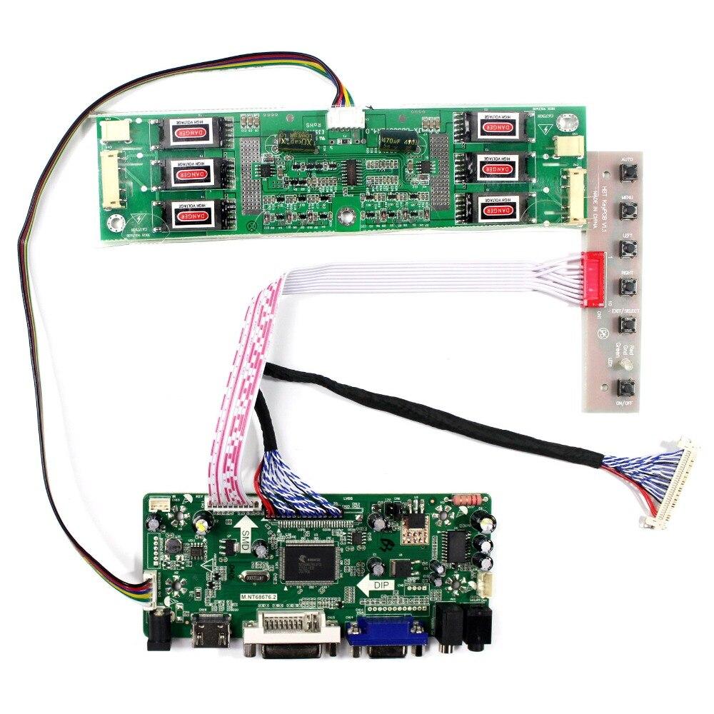 HDMI DVI VGA Audio LCD Driver Board For M201EW01 LM201M1 LM201M2 1680X1050 LCD Screen переходник aopen hdmi dvi d позолоченные контакты aca311