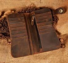 leather Dargon Tiger Emboss Fashion Checkbook Iron Chain Organizer Wallet Purse Design Clutch Handbag