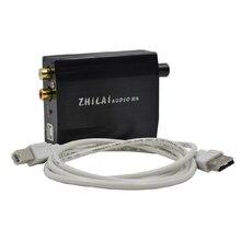 ZHILAI H8 Компьютер USB Внешняя Звуковая Карта ЦАП Декодер Мини Портативный Усилитель Настольных Аудио HiFi Усилитель Для Наушников Бесплатная Доставка