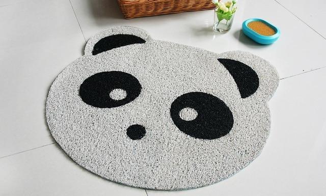 Badkamer Tapijt Badmat : Cartoon panda eend pvc badkamer mat antislip toliet tapijten