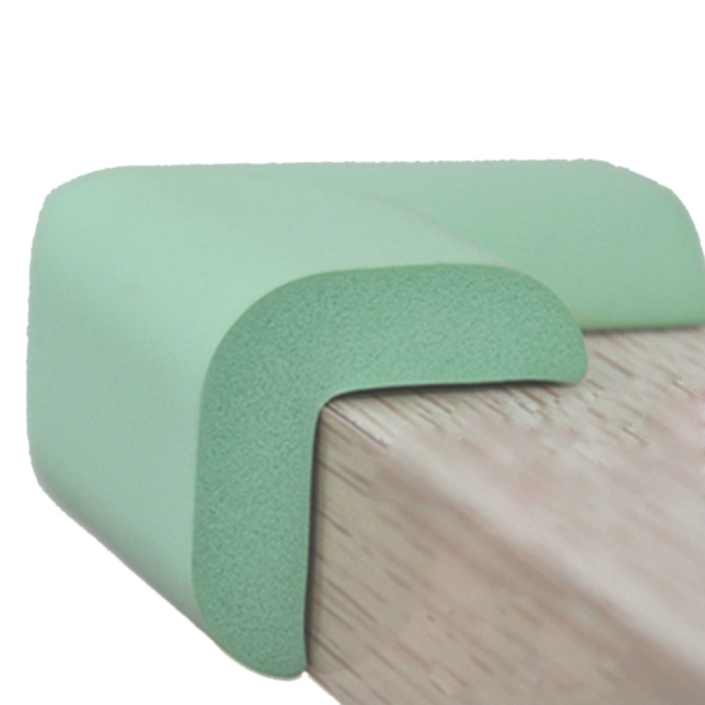 4 pcs Baby Safety Soft Cushion Protector Table Desk Edge Corner Protective Guard Cover
