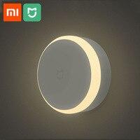 Xiaomi Mijia светодиодный коридор Ночной свет тела датчик движения для Xiaomi инфракрасный пульт дистанционного управления ночник умный дом Ночная...