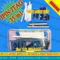 Jpin 35 in1 + isp máster erasmus mundus adaptador 3 en 1 para samsumg lg sin soldadura pinouts trabajan con RIFF ORT GPG MEDUSA JTAG Envío gratis