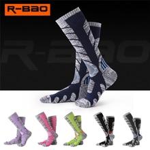 R-BAO зимние теплые длинные термальные носки Аляска для мужчин и женщин толстые хлопковые уличные спортивные альпинистские походные зимние лыжный носок