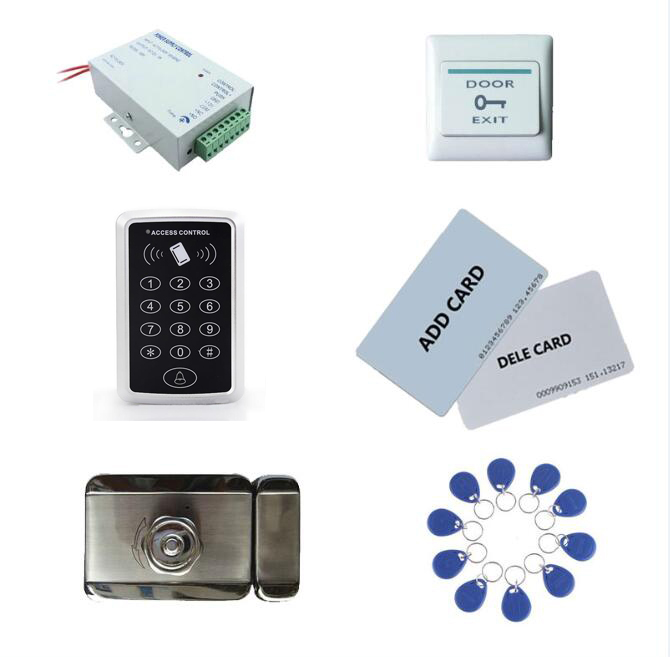 access control kit,standalone access control +power+ inteligent mute lock+ exit button+2 manage card,10 keyfob ID tags,sn:set-9 manage enterprise knowledge systematically