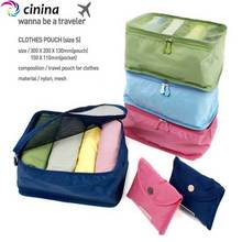 CININA High Quality New Portable Travel Women Bra Underwear Organizer Storage Bag Cosmetic Suitcase Makeup Toiletry Wash Case