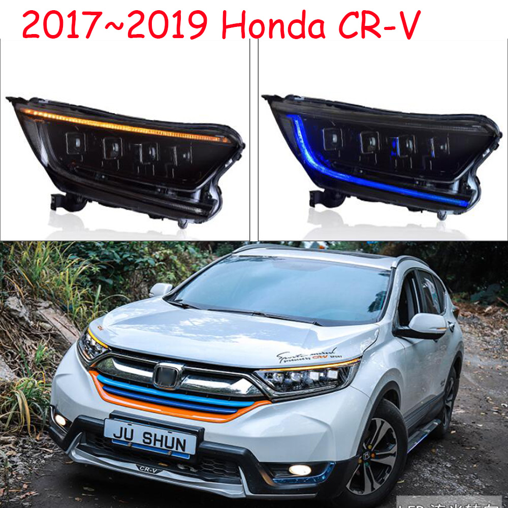 Video 2017 2018 2019y Car Bumer Head Light For Honda CR-V CRV Headlight Car Accessories All In LED Fog For Crv Cr-v Headlamp