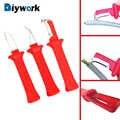 DIYWORK pelador de cables herramientas de mano Pelacables de aislamiento multifunción