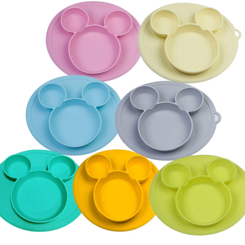 Baby silicone plate Kids Bowl Plates baby feeding silicone bowl baby silica gel dishes kids tablewareBaby silicone plate Kids Bowl Plates baby feeding silicone bowl baby silica gel dishes kids tableware