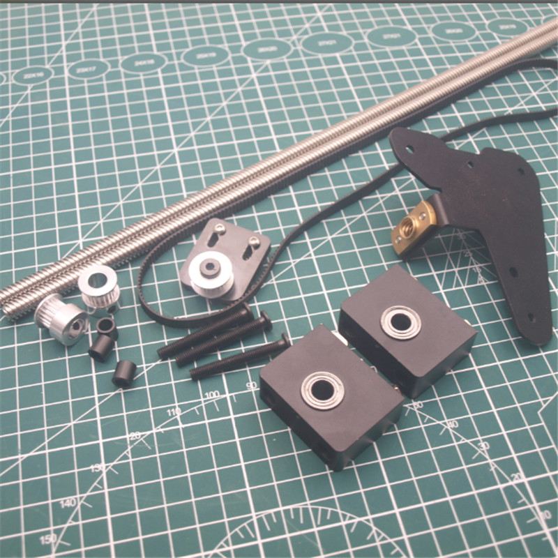 1pcs Creality ENDER3/CR-10 Dual Z Axis Upgrade Kit Use With Single Stepper Motor CR-10 Dual Z Tension Pulley Set