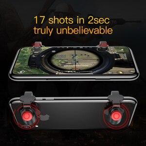 Image 4 - Baseus для Pubg игровой геймпад L1 R1 геймпад триггер для iPhone XR Xs Max Aim Fire кнопка для 4,0 6,5 дюймов Мобильный телефон Аксессуары