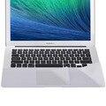 Ультра Тонкий Металл Flim Ноутбука Наклейка для Macbook Pro A1706/A1707 с сенсорный Бар Серебряный Палм Гвардии Для Mac Book Pro 13 A1708