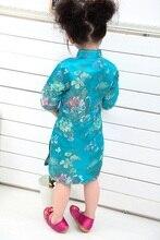 2020 Kid Girl Summer Dresses Three Quarter clothing Traditional Chinese Style Cheongsams Qipao 14DESIGNS FOR CHOOSE 2019 chinese traditional dress qipao women mandarin collar chinese cheongsams qipao oriental dresses embroidery qipao