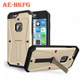 Новый Кронштейн броня case для iphone6 plus Воды/Грязь/Надежная защита от повреждений телефон case для iphone 6 plus 5.5 Обратно с Зажимом Верхней PU обложка