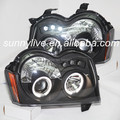 Para Jeep Grand Cherokee Chrysler 3 (sem) Head Light LED Angel Eyes 2005-2007 año SN
