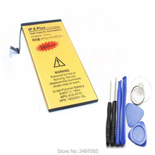 "Battery For iPhone 6 Plus 5.5"" Built-in 3800mAh Replacement Batteries Phone Accumulator With Free Machine Tools"