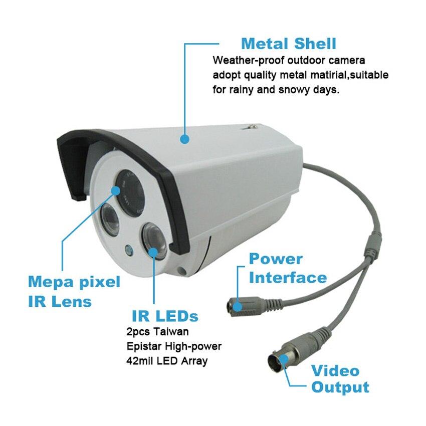 720P 960P 1080P AHD Camera 60-QB