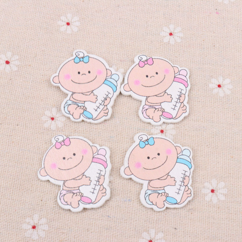 Baby Monkey Face Pack of 25 Buttons For Sewing Crafts Cardmaking Scrapbooking