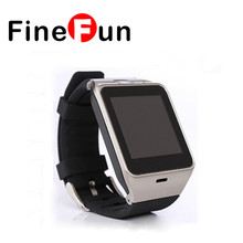 FineFun Phone Smart Watch With Camera SIM Card Slot SmartWatch GV19 Android Clock Smart Watches Bluetooth  PK GT08 GV18 DZ09