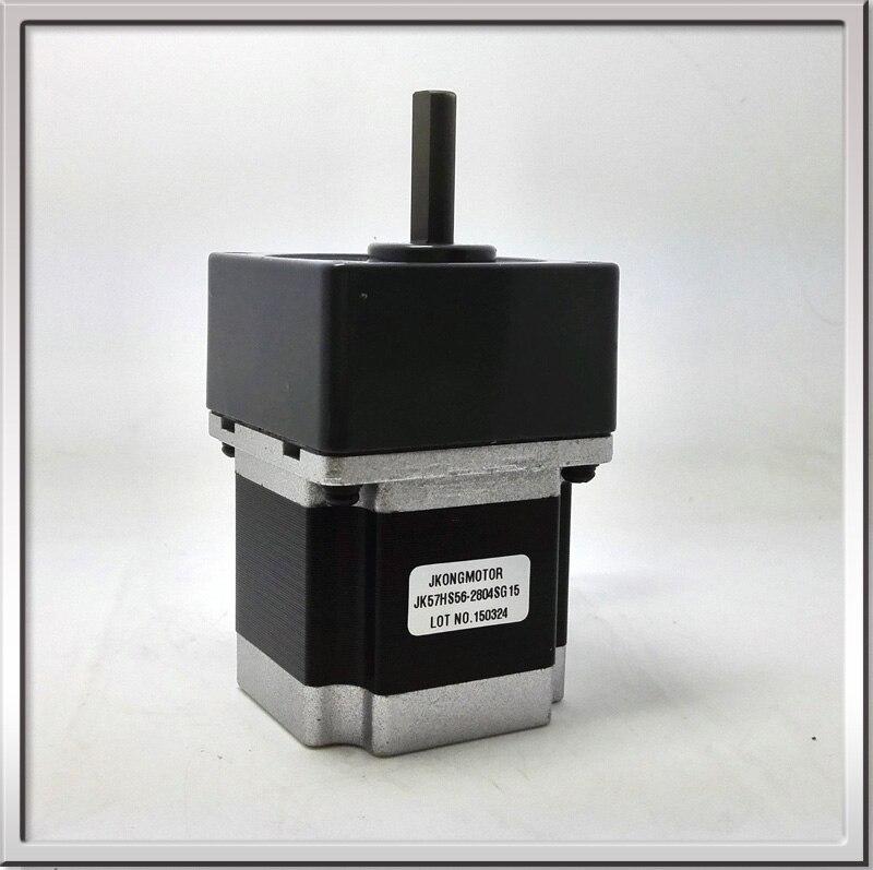 CE ROHS Große drehmoment gleichstromgetriebemotor NEMA23 57mm 2 phase Getriebe große schrittmotor getriebeuntersetzung 15:1 regelgeschwindigkeit
