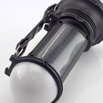 Powerful Led Flashlight Solar Hand  Lamp  2