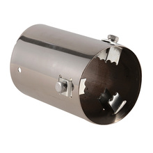 Car Exhaust Pipe Mufflers Stainless Steel Tail Pipes Automobile Car Accessories Muffler Tip End Pipes