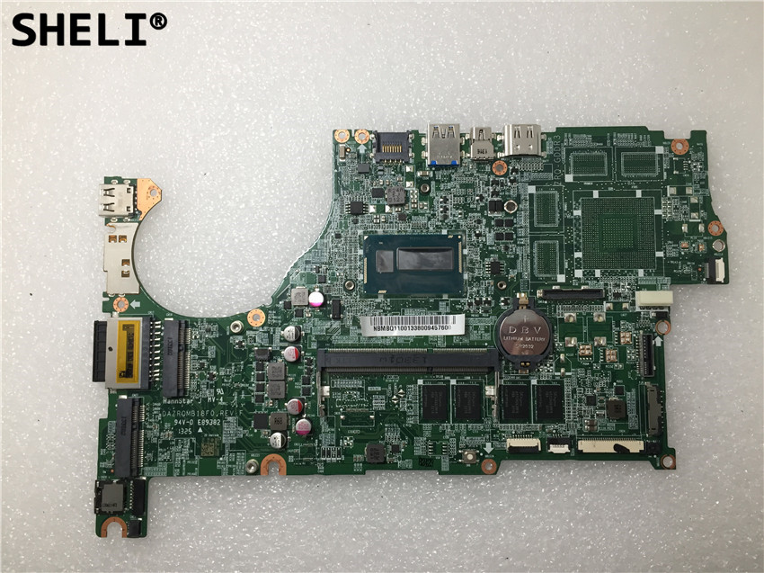 SHELI For Acer aspire V5 573 V5 573G Laptop Motherboard with I5 4200U DAZRQMB18F0