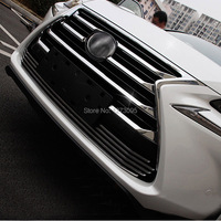 ABS Chrome Front Upper Grille For 2015 2016 Lexus NX 200 NX200T NX300H Center Grill Cover