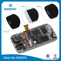 S4 i9190 Для Samsung ЖК-Дисплей i9192 S4 мини GT-i9195 Duos i9190 ЖК-Дисплей С Сенсорным Экраном Дигитайзер Ассамблеи с рамкой + инструменты