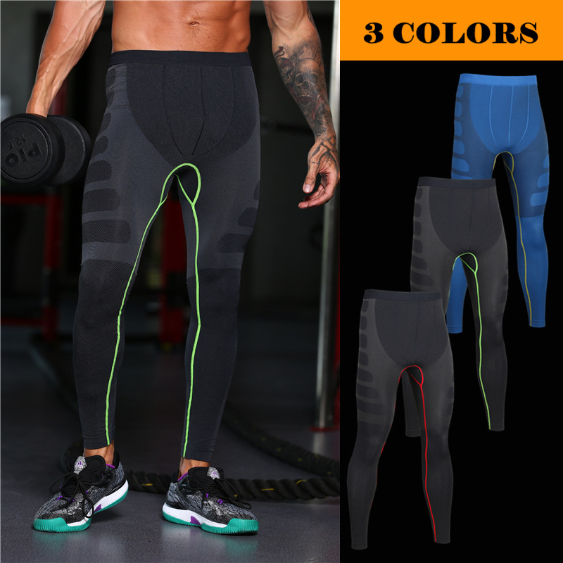 2017 Men Compression Pants Casual Tights Camouflage Pants Bodybuilding Mans High Elasticity Joggers Crossfit Skinny Leggings