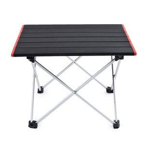 Image 2 - 超軽量アルミ合金テーブルスポット屋外キャンプテーブルポータブル折りたたみ式テーブルキャンプ自己駆動テーブル