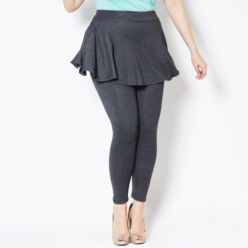 Aliexpress.com : Buy Plus Size Cashmere Imitation Leggings ...