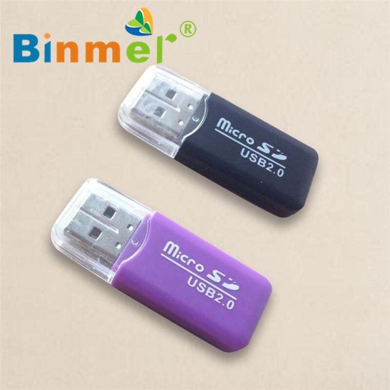 5Pcs Mini USB 2.0 Micro SD SDHC TF Flash Memory Card Reader Adapter For Laptop
