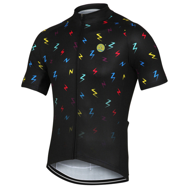 NEW 2017 JIASHUO letter colors Jersey Bike RACE Pro Team Bicycle Bike  Cycling Jersey   Wear   Clothing   Breathable Customized 1dbcbfaaf