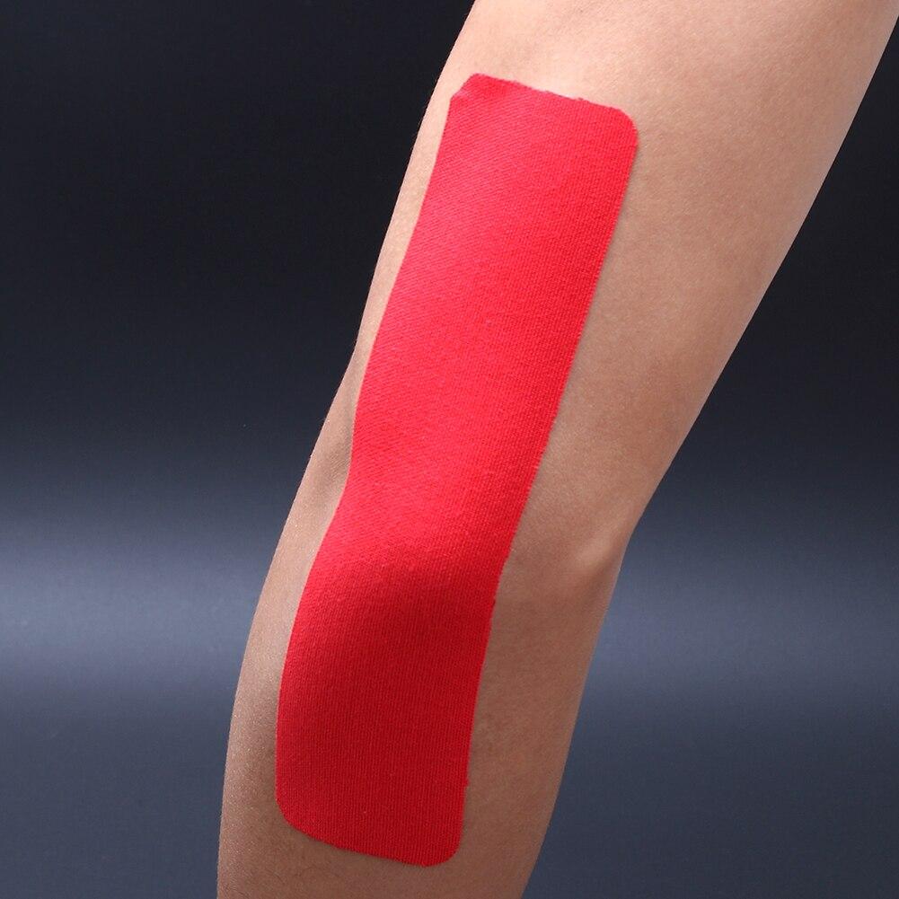 6 шт./компл. мидии Наклейки 18 см Клей Kinesio коснувшись спортивных травм напряжение мышц защиты ленты первой помощи повязки Поддержка