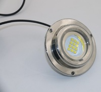 DC12v 60w 316 Stainless Steel Waterproof Led Underwater Submersible Marine Boat Light Swimming Pools Light TP B60