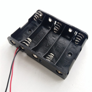 AA Battery box AA battery holder 1/2/3/4/5/6/8/10 bit 1.5/3/4.5/6/7.5/9/12/15V with line
