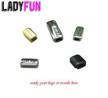 Wholesale Custom Logo Charm steel Polish Mirror Surface Bar Tube Spacer Beads For Jewelry Making 50pcs/lot