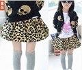 2016 Children'S Spring Clothing Girls Leopard Print Tutu Kid'S Skirt Short Skirt Bow Fashion Layered Tutu