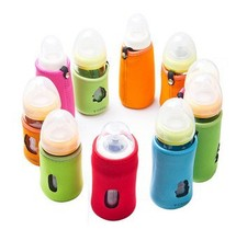 Free Shipping V Coool Baby Bottle Warmer Milk Bottle Cooler Baby Milk Storage Bags 3Colors 10cm