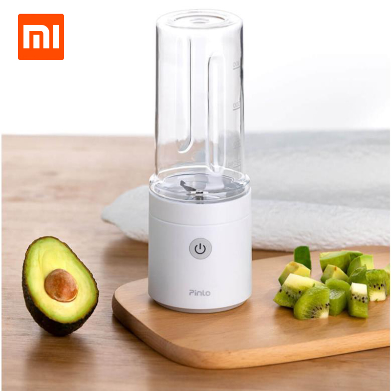 Xiaomi Pinlo Fruit Vegetable Machine Mini Portable Electric Fruit Juicer Fruit Squeezer Household Travel Juicer 350ml-in Smart Remote Control from Consumer Electronics    1