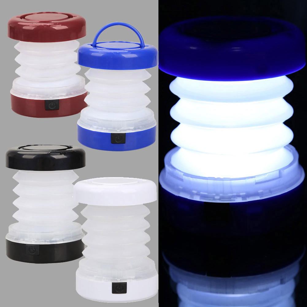 LED Waterproof Portable Scalable Lighting Mini Tent Lamp Outdoor Camping Lantern WWO66