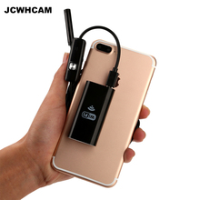 JCWHCAM 1m 2m three.5m 5m Cable IOS Android Wifi Endoscope with 8mm Lens 6 LED Waterproof Endoscope Inspection Borescope Digital camera