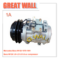 High quality 10P17C ac compressor for Car MercedesBenz W124 1979-1991 0002341411 047200-6470 0002302511