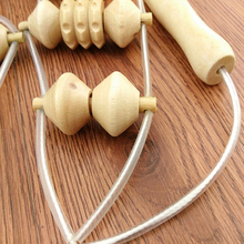 High Quality Back Massage Tools For Men Women Natural Wooden Wheel Waist Care Roller Personal Body Care Health Masager  FB