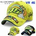 2016 Rossi 46 embroidered rainbow baseball cap F1 hat VR46 Motorcycle Racing Cap Men Baseball Hat adjustable bones snapback