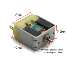 DC 3V Micro DC Motor Square Micro Motor for DIY Experiment Toy