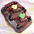 Птицы узор весны волшебный гребень 50 шт./лот Двойная Магия повелительницы special рождественский подарок