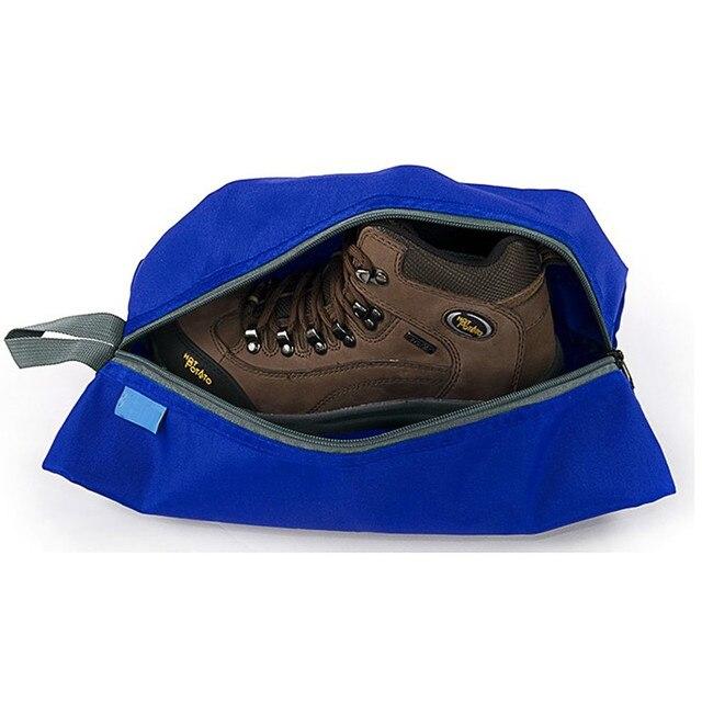 Portable Waterproof Travel Shoe Bag Nylon Foldable Storage Organizer 1